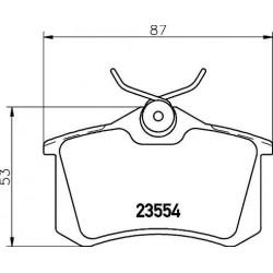 Hyundai Elantra V / VI no 2010 salona gumijas paklājiņu kompl.