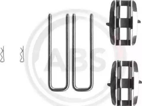 A.B.S. 0961Q - Piederumu komplekts, Disku bremžu uzlikas autodraugiem.lv