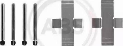 A.B.S. 0904Q - Piederumu komplekts, Disku bremžu uzlikas autodraugiem.lv