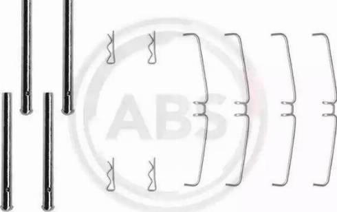 A.B.S. 0907Q - Piederumu komplekts, Disku bremžu uzlikas autodraugiem.lv