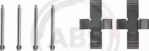 A.B.S. 0916Q - Piederumu komplekts, Disku bremžu uzlikas autodraugiem.lv