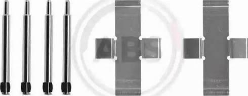 A.B.S. 0913Q - Piederumu komplekts, Disku bremžu uzlikas autodraugiem.lv