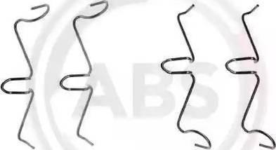 A.B.S. 0989Q - Piederumu komplekts, Disku bremžu uzlikas autodraugiem.lv