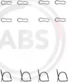 A.B.S. 0939Q - Piederumu komplekts, Disku bremžu uzlikas autodraugiem.lv