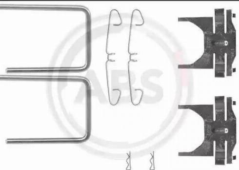 A.B.S. 0928Q - Piederumu komplekts, Disku bremžu uzlikas autodraugiem.lv