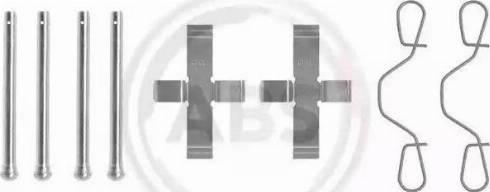 A.B.S. 0923Q - Piederumu komplekts, Disku bremžu uzlikas autodraugiem.lv