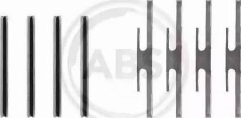 A.B.S. 0975Q - Piederumu komplekts, Disku bremžu uzlikas autodraugiem.lv