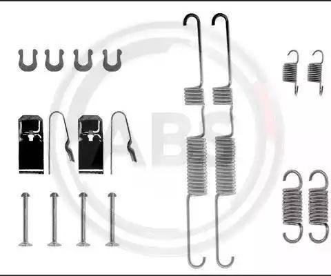 A.B.S. 0582Q - Piederumu komplekts, Bremžu loki autodraugiem.lv
