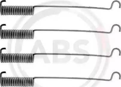A.B.S. 0575Q - Piederumu komplekts, Bremžu loki autodraugiem.lv