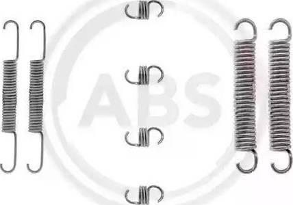 A.B.S. 0662Q - Piederumu komplekts, Bremžu loki autodraugiem.lv