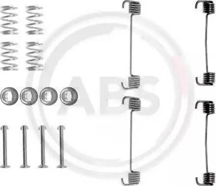 A.B.S. 0619Q - Piederumu komplekts, Stāvbremzes mehānisma bremžu loks autodraugiem.lv