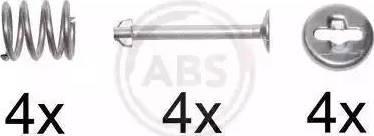 A.B.S. 0220Q - Piederumu komplekts, Bremžu loki autodraugiem.lv