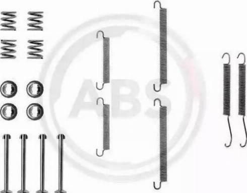 A.B.S. 0713Q - Piederumu komplekts, Stāvbremzes mehānisma bremžu loks autodraugiem.lv