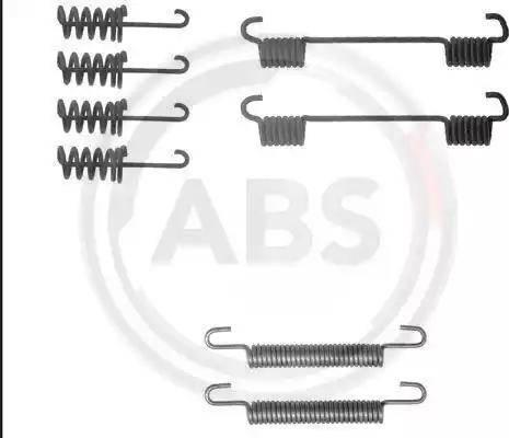 A.B.S. 0775Q - Piederumu komplekts, Stāvbremzes mehānisma bremžu loks autodraugiem.lv