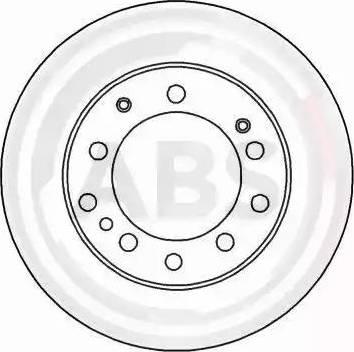 A.B.S. 15940 - Bremžu diski autodraugiem.lv