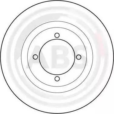 A.B.S. 15910 - Bremžu diski autodraugiem.lv