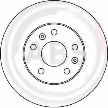 A.B.S. 15407 - Bremžu diski autodraugiem.lv