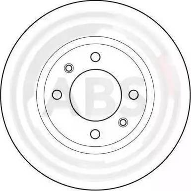 A.B.S. 15414 - Bremžu diski autodraugiem.lv