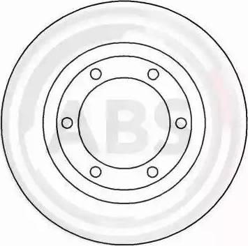 A.B.S. 15411 - Bremžu diski autodraugiem.lv