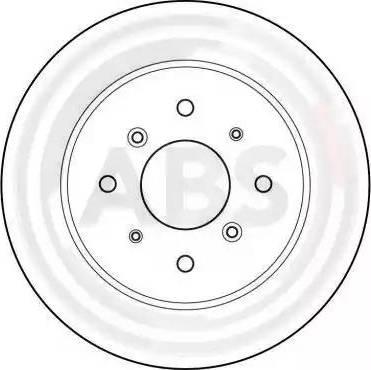 A.B.S. 15597 - Bremžu diski autodraugiem.lv