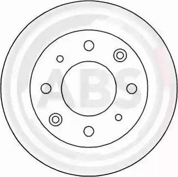 A.B.S. 15544 - Bremžu diski autodraugiem.lv