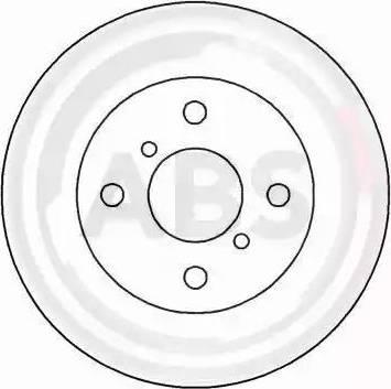A.B.S. 15554 - Bremžu diski autodraugiem.lv
