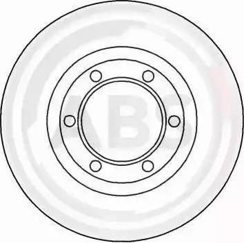 A.B.S. 15562 - Bremžu diski autodraugiem.lv
