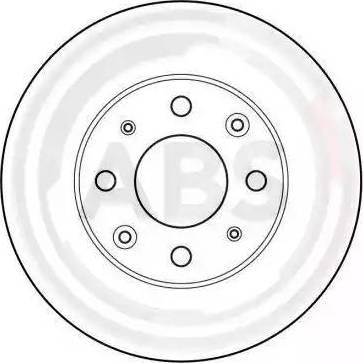 A.B.S. 15567 - Bremžu diski autodraugiem.lv