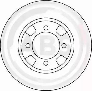 A.B.S. 15509 - Bremžu diski autodraugiem.lv