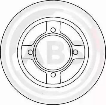 A.B.S. 15501 - Bremžu diski autodraugiem.lv