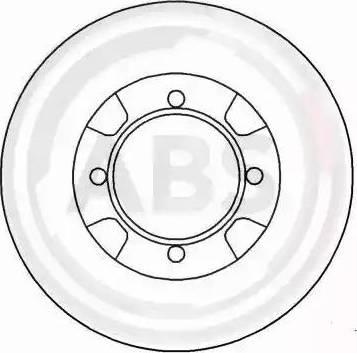 A.B.S. 15508 - Bremžu diski autodraugiem.lv