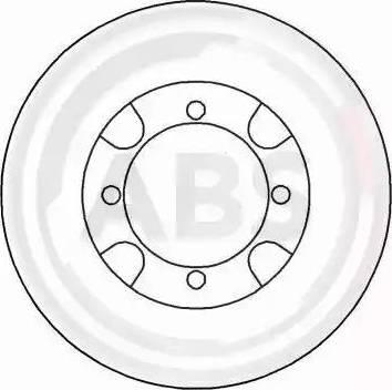 A.B.S. 15516 - Bremžu diski autodraugiem.lv