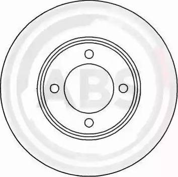 A.B.S. 15518 - Bremžu diski autodraugiem.lv