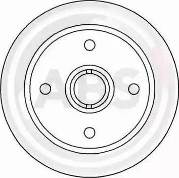 A.B.S. 15513 - Bremžu diski autodraugiem.lv