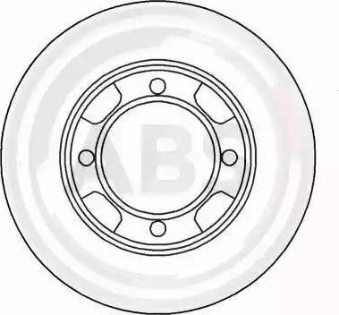 A.B.S. 15522 - Bremžu diski autodraugiem.lv
