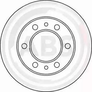 A.B.S. 15654 - Bremžu diski autodraugiem.lv