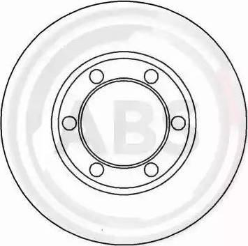 A.B.S. 15651 - Bremžu diski autodraugiem.lv