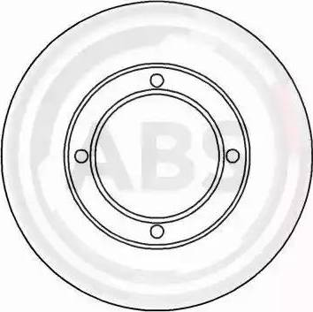 A.B.S. 15658 - Bremžu diski autodraugiem.lv
