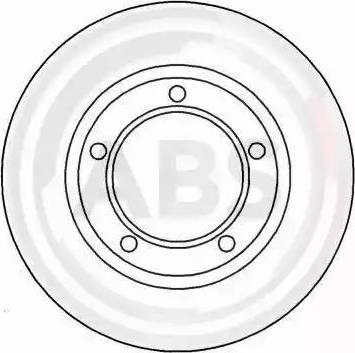 A.B.S. 15615 - Bremžu diski autodraugiem.lv