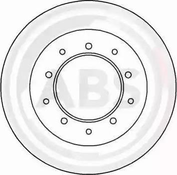 A.B.S. 15616 - Bremžu diski autodraugiem.lv
