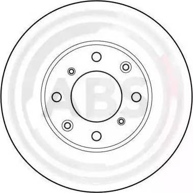 A.B.S. 15626 - Bremžu diski autodraugiem.lv