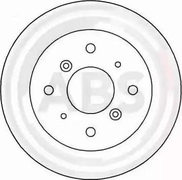 A.B.S. 15628 - Bremžu diski autodraugiem.lv