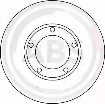 A.B.S. 15623 - Bremžu diski autodraugiem.lv