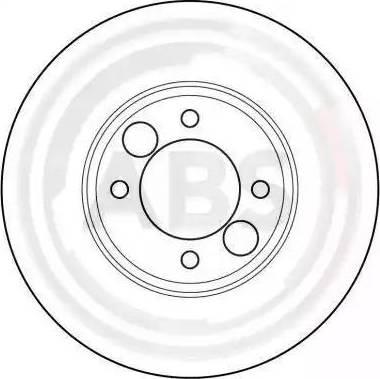 A.B.S. 15622 - Bremžu diski autodraugiem.lv
