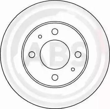 A.B.S. 15044 - Bremžu diski autodraugiem.lv