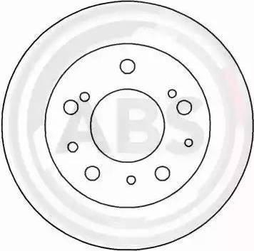 A.B.S. 15045 - Bremžu diski autodraugiem.lv