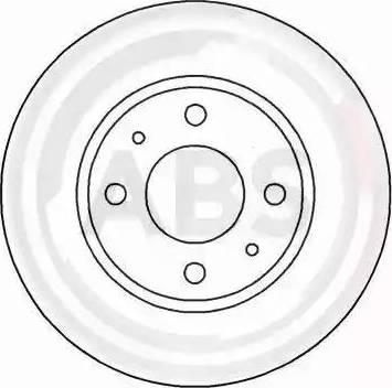 A.B.S. 15048 - Bremžu diski autodraugiem.lv