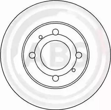 A.B.S. 15047 - Bremžu diski autodraugiem.lv