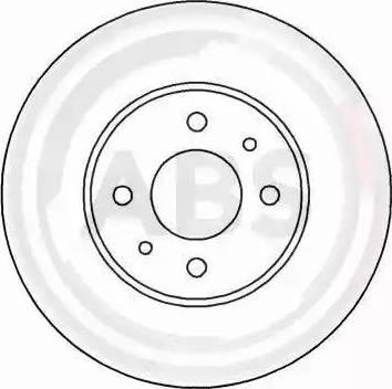 A.B.S. 15050 - Bremžu diski autodraugiem.lv