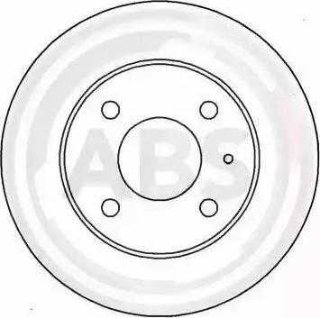 A.B.S. 15052 - Bremžu diski autodraugiem.lv